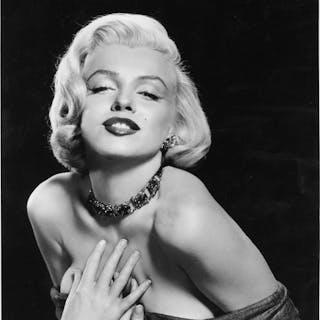 Photofest/Frank Powolny - Marilyn Monroe, Satin dress, 1953