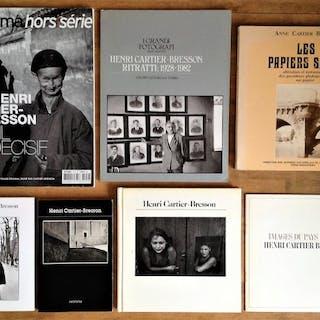 Henri Cartier-Bresson - Lot with 7 books - 1976/2004