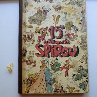 Journal Spirou- Reliure éditeur 15 - C - Erstausgabe - (1944)