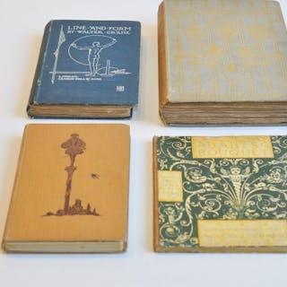 Walter Crane - 4 books