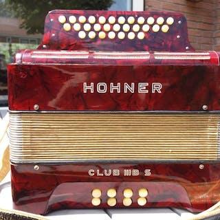 Hohner - Club III B S - Armonica - Germania - 1960