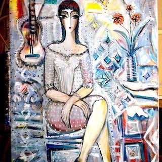 Hrasarkos- Élégante Femme Assise
