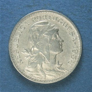 Portugal - República -50 Centavos 1938 - Escassa- Alpaka