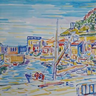 Gillis van Oosten (1916-2000) - San Sebastian 1956