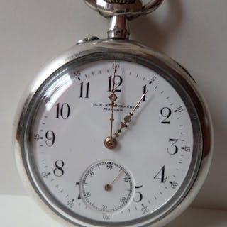 Chopard - Bikupan by L.U.C - silver pocket watch NO...