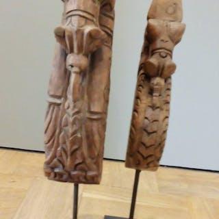 Schnitzerei (1) - Holz - Thailand - Zweite Hälfte des 20. Jahrhunderts