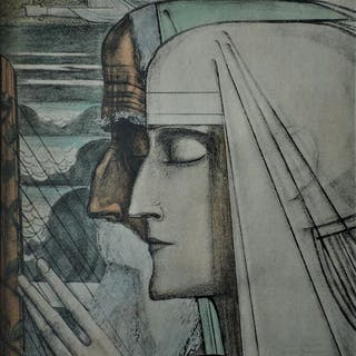 Jan Toorop (1858-1928) - Sanctus