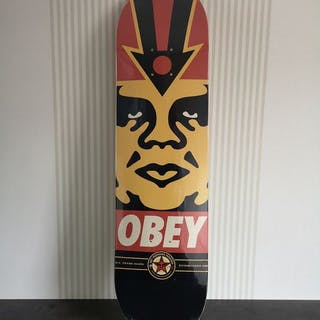 Shepard Fairey (OBEY) - OBEY logo deck