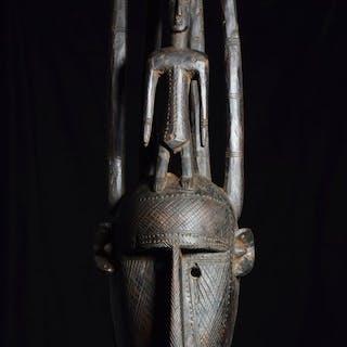 Maschera - Legno - Ntomokum - Bambara - Mali