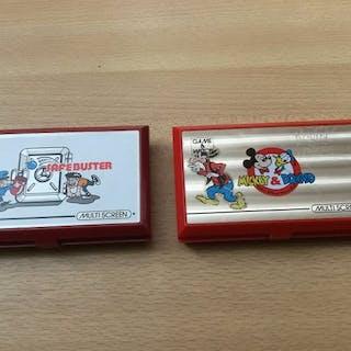 2 Nintendo Game & watch multiscreen- LCD-Game - Ohne Originalverpackung