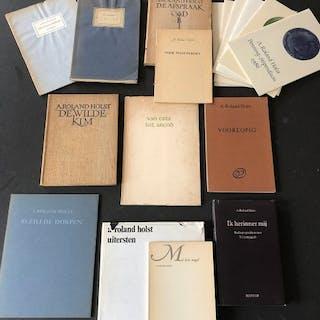 A. Roland Holst - Lot mit 7 Erstausgaben - 1925/1981
