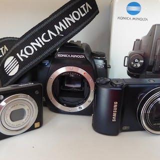Minolta 5D,Samsung WB202F en Panasonic FS10