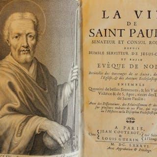 La Vie de Saint Paulin Sénateur et Consul Romain - 1686