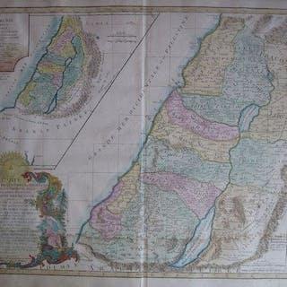 Israel, Carte de la terre des Hebreux