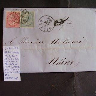 Italia Regno - Lotto con 9 lettere destinate all'estero