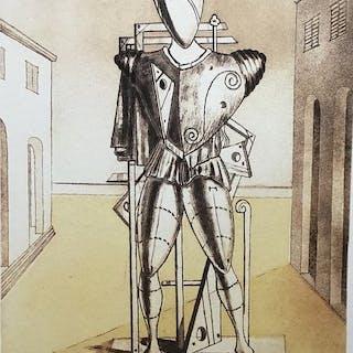 Giorgio De Chirico (d'après)- Il trovatore solitario