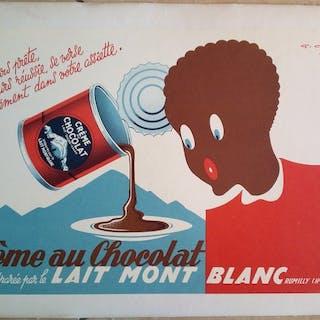 Gaston Gorde - Crème au Chocolat - 1950er Jahre