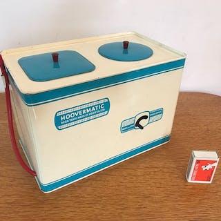 Chad Valley - 60er Jahre große Hoover matic Kinder Waschmaschine und Trockner