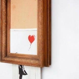 Banksy - Love is in the Bin (Girl with Balloon), Frieder Burda Museum - 2019