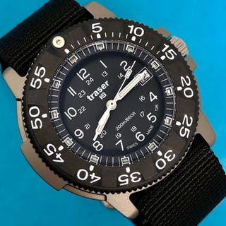 Traser - H3 Titanium Commander 100 Force with NATO Band...