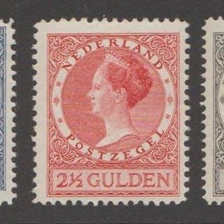 Niederlande 1926/1927 - Queen Wilhelmina 'Veth' - NVPH 163/165