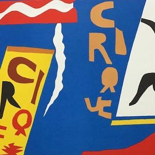 Henri Matisse(d'après) -Le Cirque (planche II)- Jazz -