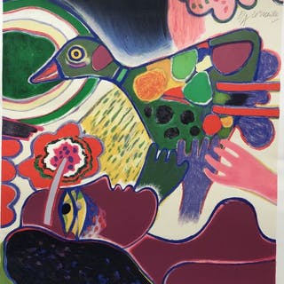 Corneille- Oiseau de toutes les couleurs