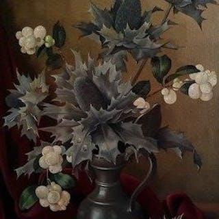 Joan BN van Gent (1893-1974) - Bloemstilleven