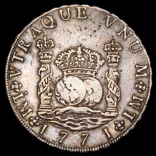 Spain - 8 reales - Carlos III (1759-1788)