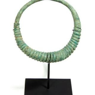 Jewellery - Bronze - Torque of twisted wire - Thailand - ban chiang (ca