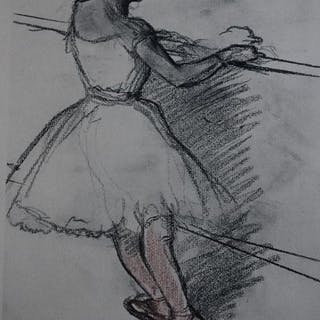 Edgar Degas (1834-1917) - La Danse
