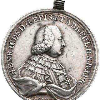 Germany - Fulda - Medaille 1763, Heinrich VIII von Bibra - Silver