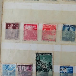 Italien Republik 1945/1977 - Selection of stamps in...