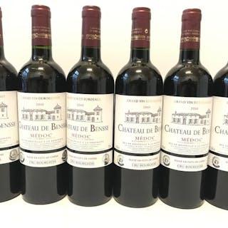 2010 Château de Bensse - Bordeaux, Medoc Cru Bourgeois - 6 Flaschen (0,75 l)