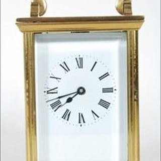 French Carriage Clock - Brass - Early 20th century