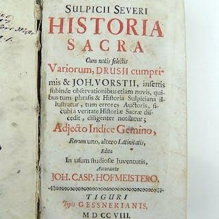 Sulpicio Severo (Sulpicius Severus) - Historia sacra...