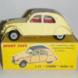 Dinky Toys - 1:43 - 2 CV Citroën ref: 558