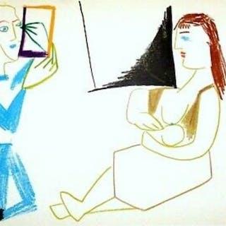 Pablo Picasso ( d'après ) - La Comédie Humaine