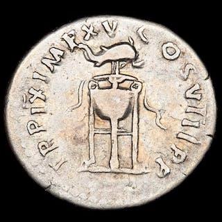 Roman Empire - Denarius - Titus (79-81 A.D.)