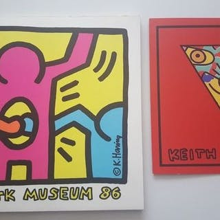 Keith Haring - Lot with 2 publications - 1986/1992
