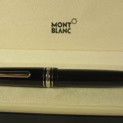 "Montblanc - Pregiata penna  Meisterstuck ""Le Grand"" 161 nera rifiniture palladio"