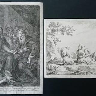 Bartholomäus Ignaz Weiss (1740-1814) + 1 altro - La...