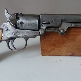 Belgium - C.Clement - 1851 Navy - navy colt - Percussion - Revolver