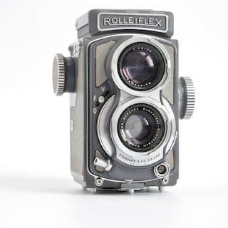 Rollei Rolleiflex Baby Grey 4x4 type K 5 with Xenar lens