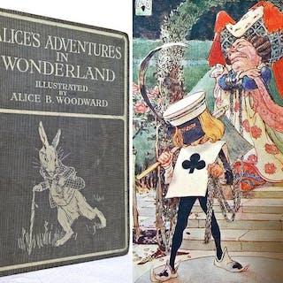 Lewis Carroll/ Alice B. Woodward- Alice's Adventures in Wonderland- 1914