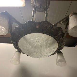 Muller Freres Luneville - Muller Freres Luneville - Lamp