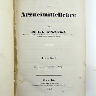 Karl Gustav Mitscherlich - Lehrbuch der Arzneimittellehre - 1847/1851