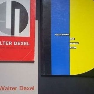 Walter Dexel - Lot with 3 books - 1966/1991