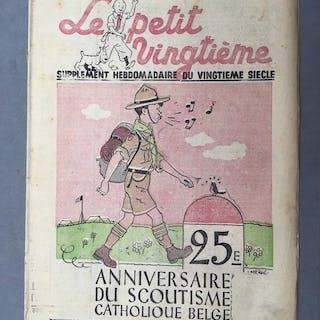 Le Petit Vingtième 19 - Tintin - L'ile Noire - Softcover - Erstausgabe (1938)