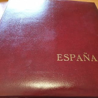 Spanien 1995/2000 - collection mounted in Edifil album...